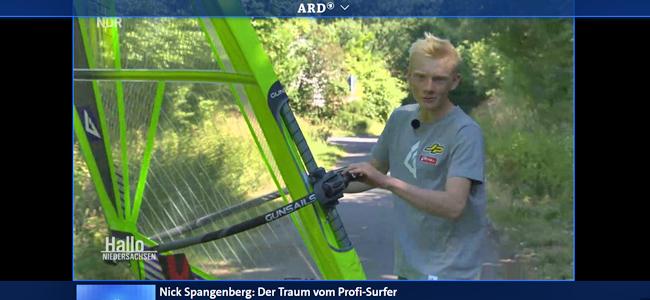 GUNSAILS | Nick im TV bei der ARD