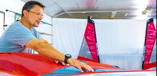 Renato Morlotti Windsurf Sail Designer