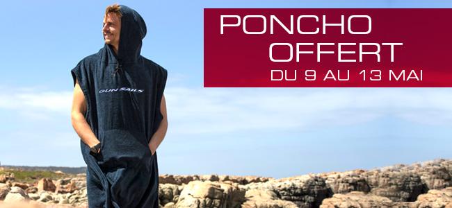 GUNSAILS | PONCHO OFFERT DU 9 AU 13 MAI