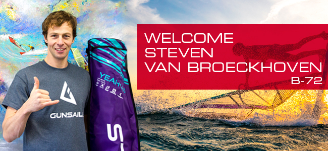 GUNSAILS | Welcome Steven Van Broeckhoven