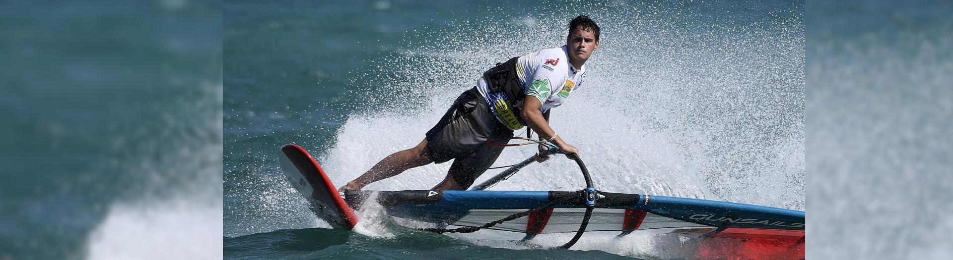 Fabian Wolf Foil Windsurf Deutscher Windsurf Cup