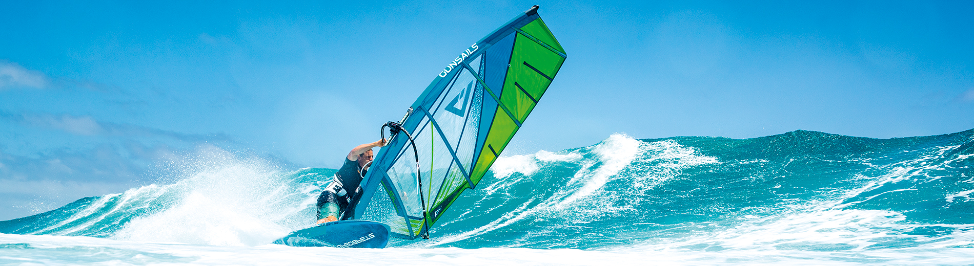 GUNSAILS | Florian Jung - PWA Worldtour Rider, Wave Windsurfing