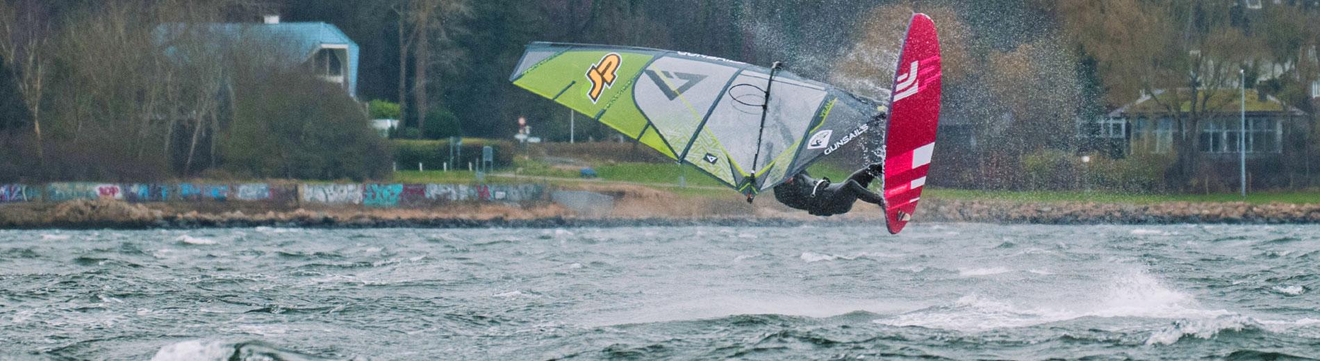 GUNSAILS | Lucas Nebelung - PWA Worldtour Rider, EFPT Freestyle Tour Windsurfing, German Freestyle Battles
