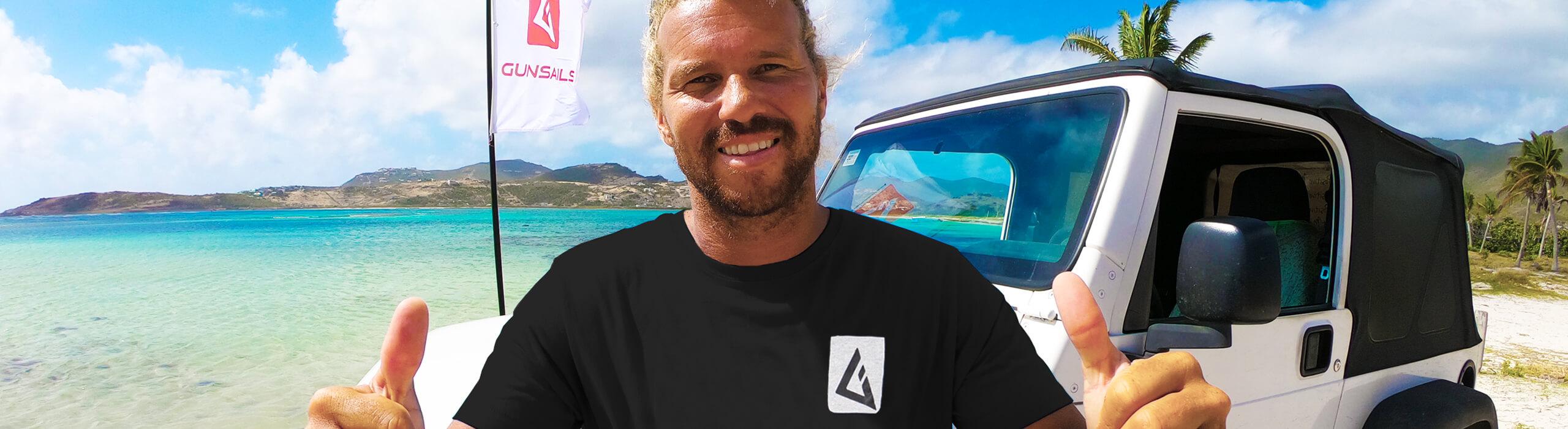 GUNSAILS | Julien Quentel - PWA Worldtour Rider, Slalom and Foil Windsurfing, Waveriding