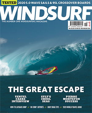 GUNSAILS | Test Report Windsurfing Wave Sail Seal Windsurf UK