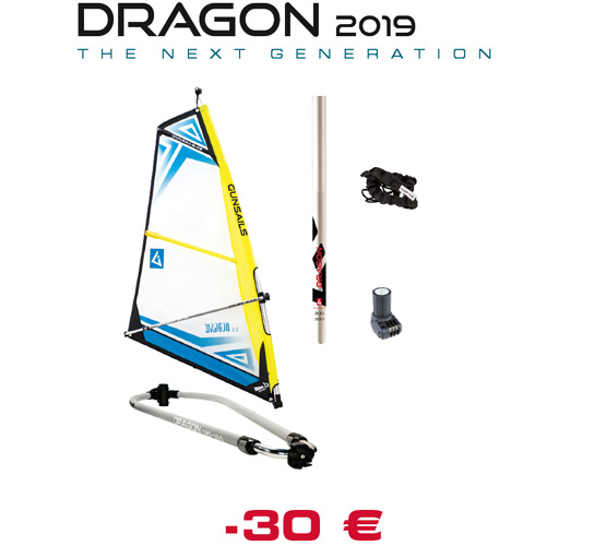Kinder Windsurf Segel Dragon