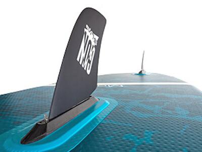 GUN SUP | Aufblasbare Stand Up Paddle Boards mit Drag Finne zum Windsurfen
