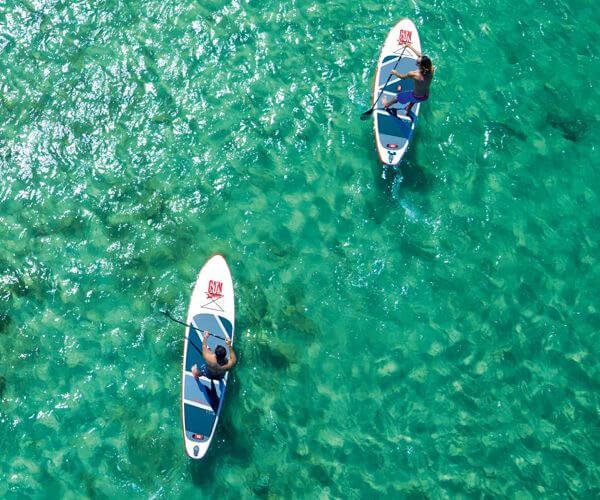 GUN SUP | Aufblasbare Stand Up Paddle Boards Auslaufmodelle