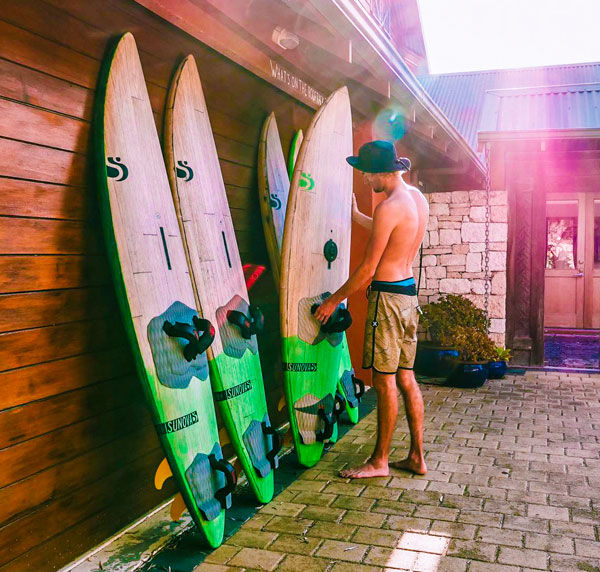Sunova Windsurf Boards Factory