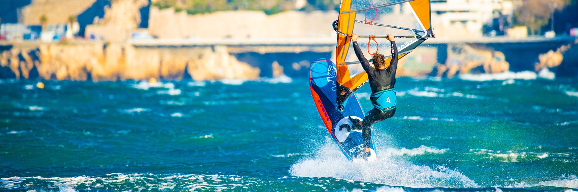 Steven van Broeckhoven Windsurf Trapez
