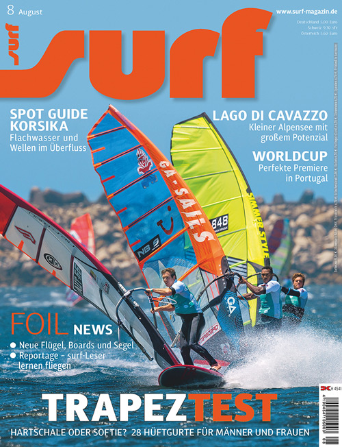 Surf Magazin Test Windsurf Trapeze