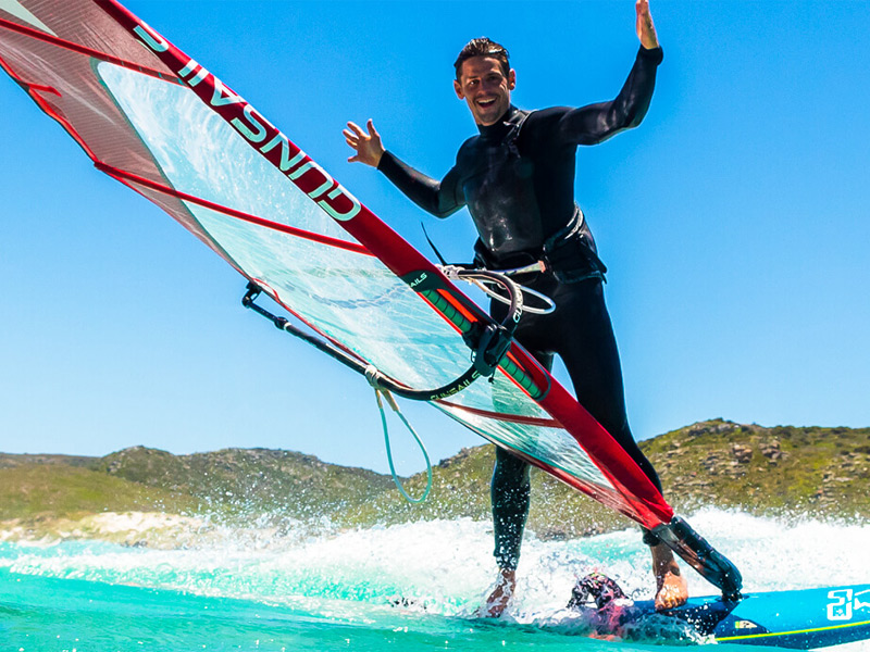 Windsurf Freeride Segel
