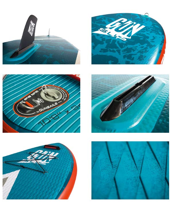 GUN SUP | Stand Up Paddle Board Details