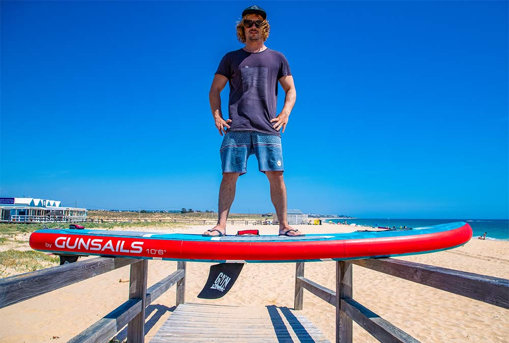 GUN SUP | Stand Up Paddle Board Stiffness