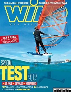 GUNSAILS | Testbericht Vector Freerace Windsurf Segel Wind Mag 2019
