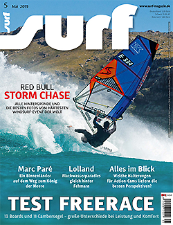 GUNSAILS | Testbericht Vector Freerace Windsurf Segel Surf Magazin 2019