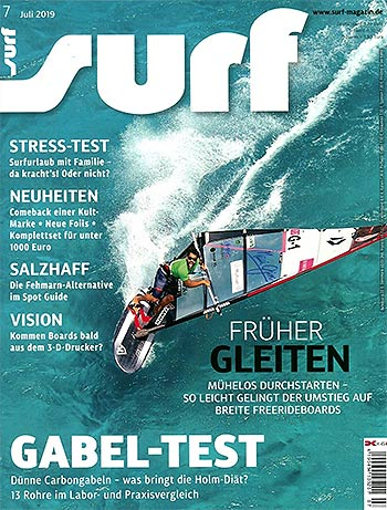 GUNSAILS | Testbericht Select Boom Carbon Gabelbaum Surfmagazin
