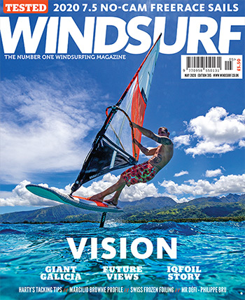 Testbericht Windsurf Freemove Segel Surf Magazin, Windsurf Journal, Planchemag