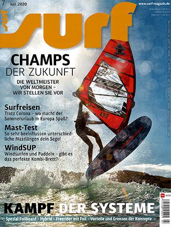 Testbericht SUP Board DiscovAIR Surf Magazin
