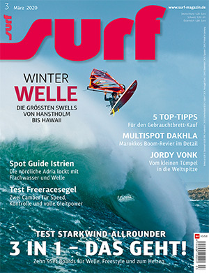 Test Report Windsurf Freemove Sails Surf Magazin, Windsurf Journal, Planchemag