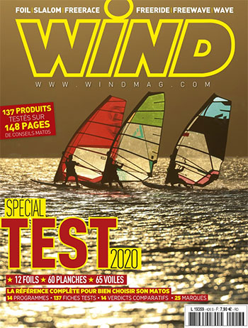 GUNSAILS | Test Report Windsurfing Wave Sail Seal Wing Magazine