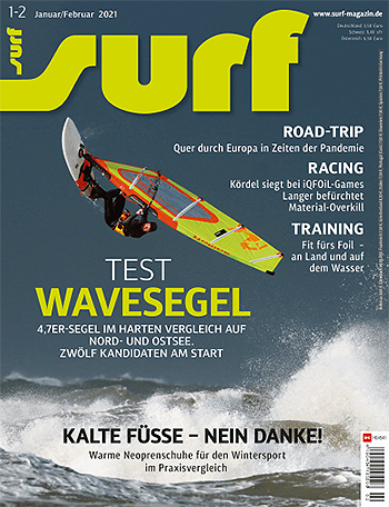 GUNSAILS | Test report Windsurf Wave Sail Seal Windsurfing Surf Magazine
