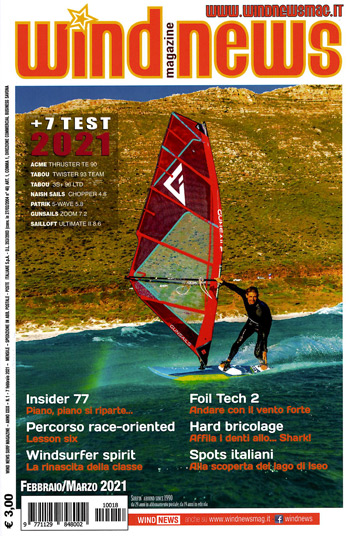 Testbericht Windsurf Freeride Segel Surf Magazin, Windsurf Journal, Planchemag, Windsurf UK, Windnews