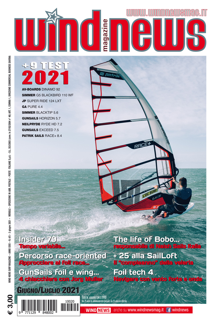 Testbericht Windsurf Freeride Segel Surf Magazin, Windsurf Journal, Planchemag, Windsurf UK, Windnews