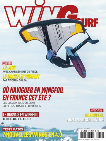 Test report wing surf