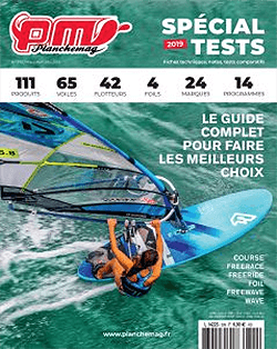 GUNSAILS | Testbericht Vector Freerace Windsurf Segel Planchemag 2019