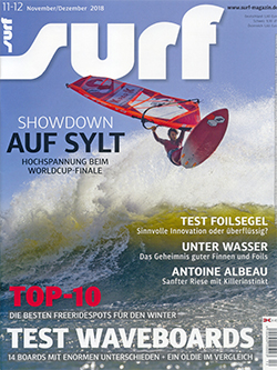 GUNSAILS | Testbericht Bow 2019 Surf Magazin