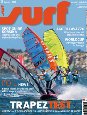 GUNSAILS   Testbericht Windsurf Trapez Trion
