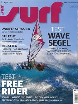 GUNSAILS | Testbericht Surf Magazin Transwave 5.0