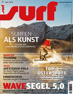 GUNSAILS | Windsurf Wave Segel Testbericht Horizon 2019 Surf Magazin