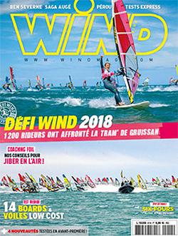 GUNSAILS | Test report Stream 2018 Wind magazine
