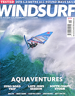 GUNSAILS | Test reports Windsurf UK - Horizon 2019