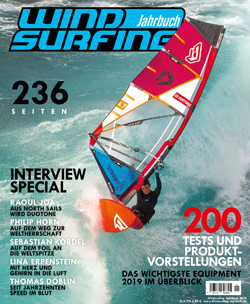 GUNSAILS | Test report Horizon 2019 Windsurfing Jahrbuch