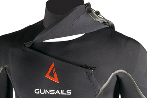 GUNSAILS | Force Series Neoprenanzug mit Frontzip für Windsurf, Kitesurf, Wellenreiten
