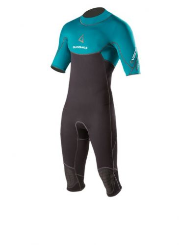 Warm short sleeve over knee neo wetsuit Vision BZ Overknee for summer