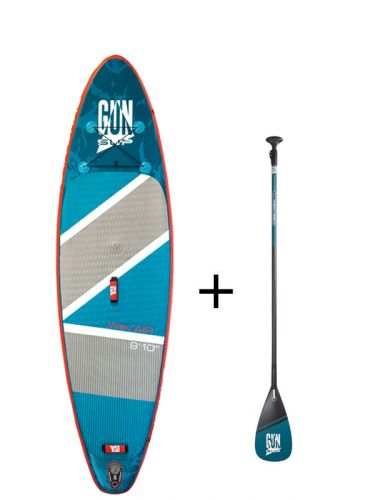 Inflatable SUP Board plus free Hybrid Carbon Paddle