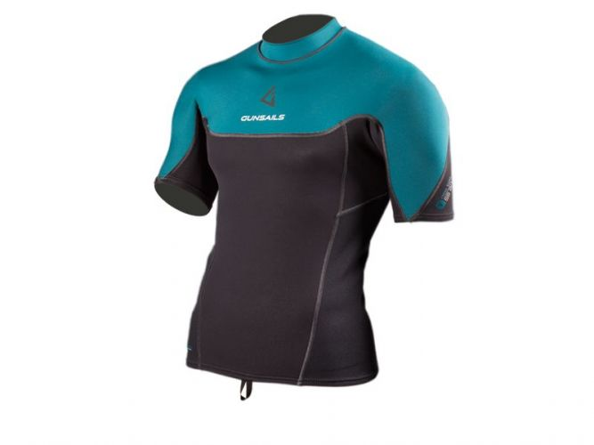 Windsurf neoprene Top Short Sleeve for warmer days or to wear underneath on colder surf days