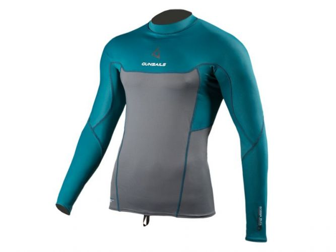 Neoprene Shirt Rashguard Long Sleeve protection against sunlight and additional thermal layer on colder surf days