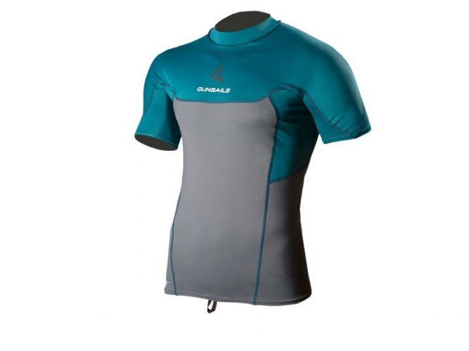 Neoprene Top Rashguard Short Sleeve protection against sunlight or thermal layer on colder surf days