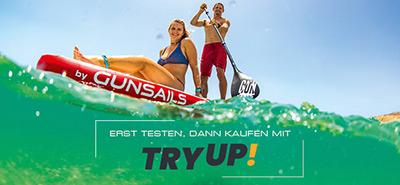 ERST TESTEN, DANN KAUFEN - MIT TRYUP!