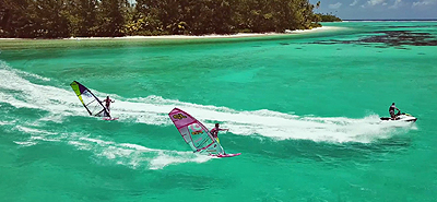 WINDSURF SHOW IN TAHITI