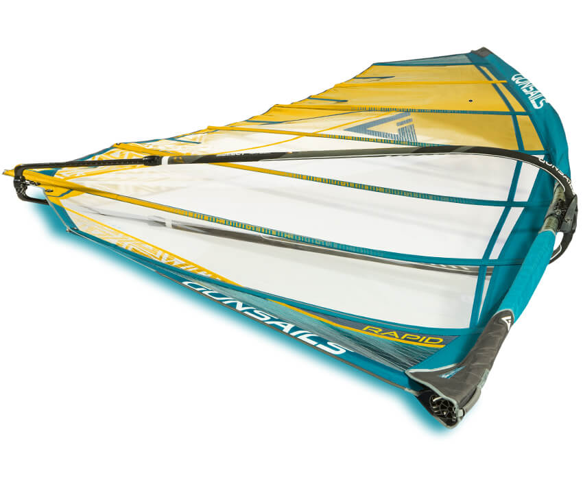 No Cam Freerace Windsurf Segel